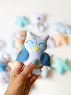 Excited to share this item from my shop: Baby boy blue mobile Boy baby mobile Baby Crib mobile Personalized Nusery decor Music mobile Felt Bear owl Baby shower gift Boy Mobile, Baby Crib Mobile, Baby Boy Room Decor, Baby Boy Rooms, Baby Room, Baby Boy Cribs, Felt Baby, Baby Owls, Boy Blue