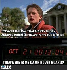 Wo ist mein Hoverboard