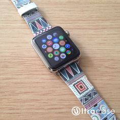 Colorful Tribal Pattern Apple Watch Strap Band 38 42 mm – UltraCase