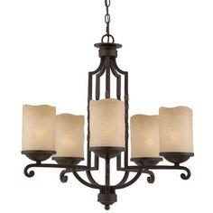 Triarch Lighting Five-Light Chandelier | 31413 | Destination Lighting