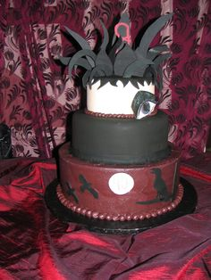 Cake inspired by The Cure