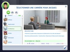 Architecture Career by Neia at Mod The Sims • Sims 4 Updates