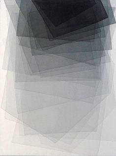 Joachim Bandau: Black watercolour