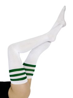 Stripe Thigh-High Sock | Thigh-Highs | Accessories' Socks | American Apparel