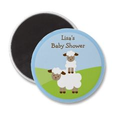 Personalized Party Favor Magnets