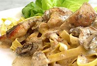 Ina Paarman's Creamy Lemon Chicken with Mushrooms South African Recipes, Ethnic Recipes, Creamy Lemon Chicken, Yummy Chicken Recipes, Tasty, Yummy Food, Mushroom Chicken, Recipe Search, Stuffed Mushrooms