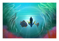 New Andy Fairhurst Art for FINDING DORY — GeekTyrant