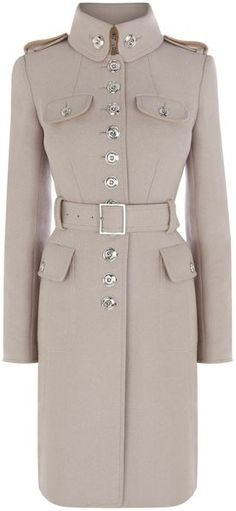 KAREN MILLEN ENGLAND Ultimate Military Coat
