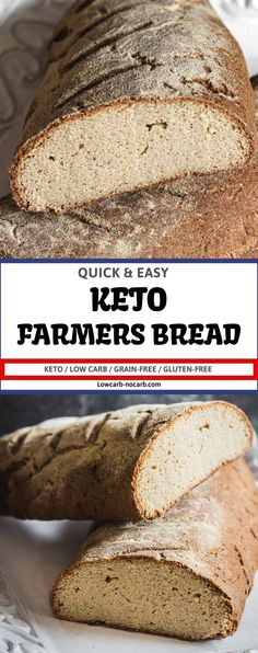 The best Keto Bread in the whole world, which not only looks real but also tastes and smells like a real loaf of bread. The Number 1 Keto Bread has been born. You bake it once and will never ever change for something else.