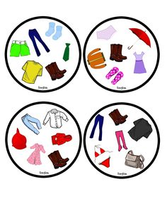 Funglish: Clothes - part 1 English Games, English Activities, Vocabulary Activities, Double Game, Picture Boards, Teaching French, Speech Therapy, Board Games, Kids Rugs