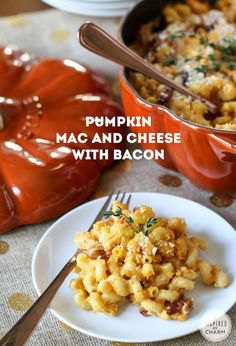 pumpkin mac and cheese with bacon pumpkin mac and cheese with bacon ...