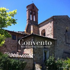 Convento - an old Augustinian monastery which was rebuilt to Tuscan apartments with an unparallelled atmosphere. Italian Style, San Francisco Ferry, Notre Dame, Building, Apartments, Travel, Buildings, Viajes, Traveling