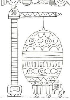 Pikku Kakkonen: Värityskuva Colouring Pages, Free Coloring, Coloring Pages For Kids, Coloring Sheets, Coloring Books, Easter Crafts, Crafts For Kids, Easter Season, Easter Printables