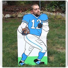Football cutout! It's football season and you need to add this photo prop to any…