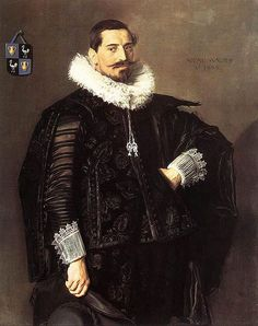 """Portrait of Jacob Olycan""  --  1625  --  Franz Halz  --  Oil on canvas  --  Royal Picture Gallery, Mauritshaus, The Hague  --  Netherlands"