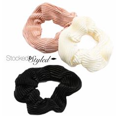 #Stockedandstyled #stockonhand #stylist #stylistlife #willoughby #langley #walnutgrove #fortlangley #leggings #socialitesuite #sassysuite #fashion #styled #clothing #accessories #homeboutique #supportlocal #shoplocal #scrunchies #hairscrunchies #happyhair #healthyhair #hairties #hairelastics #scrunchiesareback #scrunchiegang Hair Scrunchies, Clothing Accessories, Hair Ties, Healthy Hair, Stylists, Leggings, Style, Fashion, Ribbon Hair Ties
