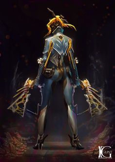 ArtStation - Warframe Basic Frames part 1, Kevin Glint
