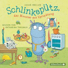 Das haifischblaue Monster Schlinkepütz von Jugendliteratur-Preisträgerin Susanne Kreller, gelesen von Katharina Thalbach. Hörbuch Rezension von @juliliest