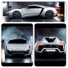 Lykan Hypersport :: twin-turbo, flat-six engine with 750 hp and 737 lb-ft of torque. From United Arab Emirates