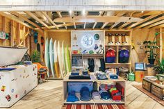 Rapt x Salt Surf pop up: Tour the Urban Outfitters Concept Store, Space Ninety 8 - Now Open - Racked NY Urban Outfitters Store, Surf Store, Urban Shop, Beach Stores, Surf House, Retail Store Design, Retail Stores, Concept Shop, Concept Stores