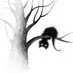 cats on trees - Elena Lishanskaya