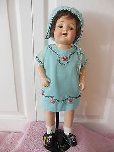 "18"" composition Patsy type girl doll"