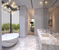 Master Bathroom concept design by @anaciprianodesign #middleeast #uae #dubai #abudhabi #saudiarabia #interiordesign #interiordesigner #architecture #decoration #contemporary #modern #ilovemyjob #decor #design #highend #architect #arquitetura #arquiteta #casacorrio #casacor #mostrablack #rio #rj #riodejaneiro #sp #sampa #saopaulo #brasil #brazil