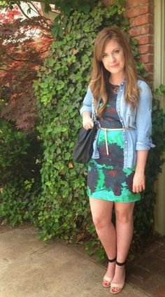 spring dress #bloggerstyle #blogger