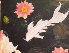 platinum butterfly koi by patty tounzen
