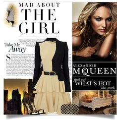 """""""Alexander McQueen"""" by lisamichele-cdxci ❤ liked on Polyvore"""