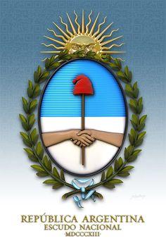 Escudo Nacional Argentino - Buscar con Google Plate, My Roots, Latin America, Book Making, Country, Mandala, Cool Stuff, Anime, Regional