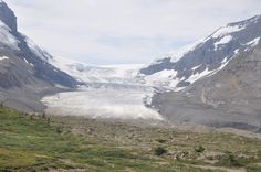 Athabasca Glacier ~ Canada ~ the largest ice cap in the Canadian Rockies
