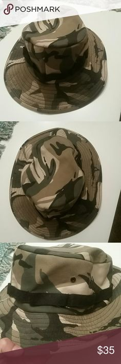FINAL PRICE! REMOVING TOMORROW 9/11 Army Surplus Camo Bucket Hat Size small Army Surplus  Accessories Hats