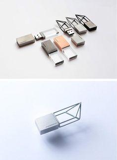 Exclusivist Empty Memory USB Sticks.