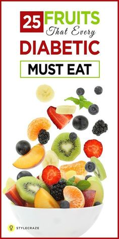 Do you have diabetes? Are you worried about foods with a high glycemic index? Don't worry. We are here to give you the best fruits that you can relish without worrying about your blood sugar levels. Diabetic Food List, Diabetic Tips, Diabetic Meal Plan, Diet Food List, Food Lists, Diabetic Fruit, Diabetic Breakfast Recipes, Diabetic Snacks Type 2, Diabetic Recipes For Kids