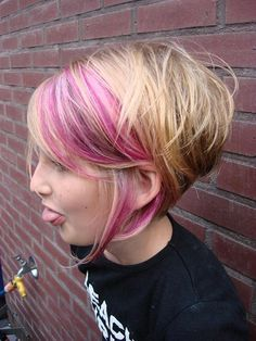Cute Short Girl Hairstyles where was this when I decided to go short!! might try it in the long hair in purple