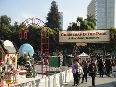 Christmas in the Park           DestinationsTipsTalkBlogEventsBook HotelsBuy GearWrite a Review      Current Location:  USA  > California  > San Francisco Bay Area  > San Jose  > Activities  Christmas in the Park  Market street, San Jose, California 95113 | (408) 297-9627      view 10 photos   add photos   edit photos  Edit ReviewAsk a Question  Edit  DetailsBookmarkIs this your business?  3 Reviews  Type: Interesting Neighborhoods and Events & Shows  Ages: All Ages  Co