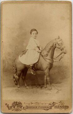 Adorable and Valuable 1895 ORIGINAL Antique Spanish Art