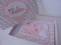 Álbum de fotos personalizado para a filhota Thalita! #maternidade #coisademenino #album #scrapbook #encantosdeane #detalhes #personalizado #festa #festainfantil #fotos #doceespera