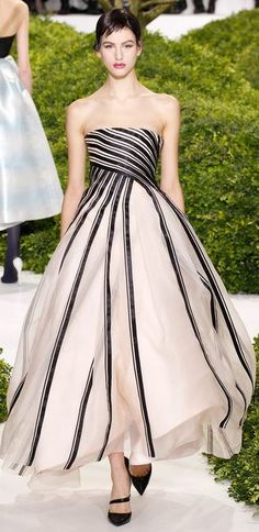 Christian Dior - Haute Couture Spring 2013 Dior Haute Couture, Couture Christian Dior, Style Couture, Couture Fashion, Christian Siriano, Beautiful Gowns, Beautiful Outfits, Beautiful Lines, Gorgeous Dress