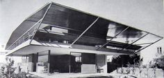 Here are some interesting houses by Greek architect Takis Zenetos, whose work we first looked at way back in [Image: House by Takis Zenetos from Takis Ch. Zenetos I will … Modern Buildings, Modern Architecture, Box Kite, Most Famous Quotes, Le Corbusier, Athens, Greece, Stairs, Exterior