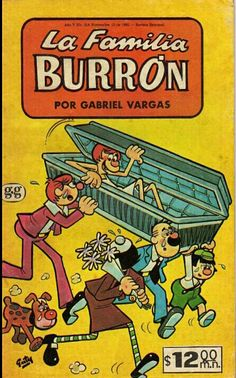 Historieta de la Fam. Burron. Google.