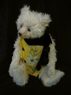 Hamilton One of a Kind Mohair Artist Bear with by aerlinnbears, $430.00