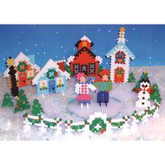 Perler Holiday Village