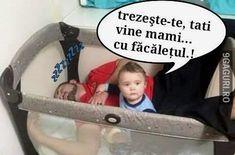 Trezește-te tati ca vine mami! Humor, Memes, Funny, Quotes, Crafts, Rome, Quotations, Manualidades, Humour
