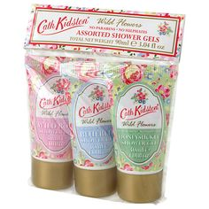 Buy Cath Kidston Assorted Shower Gels 3 x 30ml Online at johnlewis.com