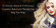 Claire Cappetta (@ClaireCappetta)   Twitter Cognitive Behavioral Therapy, Spiritual Guidance, Ptsd, Relationship Advice, Claire, Anxiety, Meditation, Stress, Spirituality