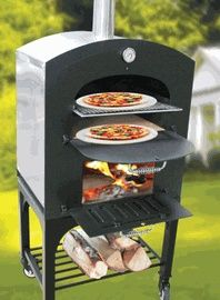 cool things for outside | cool stuff / Small Outdoor Wood Burning Pizza Oven