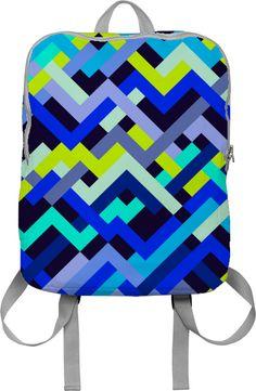 Lime & Navy No. 2 - printallover.me by House of Jennifer $65 #art #pattern #design #textile #geometric #houseofjennifer #abstract