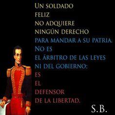 el libertador Simon Bolivar